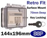 Key Lock Equipment Cover for surface mount K500D