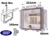 Thumb Lock Controller Enclosure with deep back box T501A