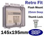 Thumb Locking Cover for flush mount T501E