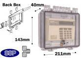 Thumb Locking Cabinet Enclosure with shallow back box T501F