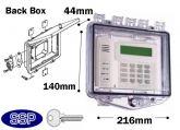 Rim Key Lock Enclosure Double-gang electrical box K510B