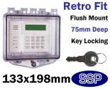Rim Key Lock Cover Flush mount K510C