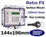 Rim Key Lock Cover Surface mount K510D