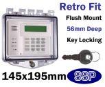 Rim Key Lock Cover Flush mount K510E