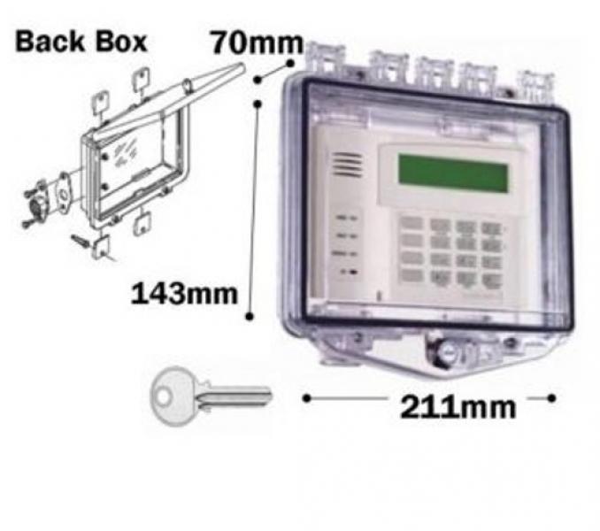 Rim Key Lock Shallow back box K510F