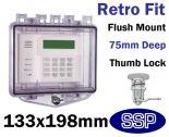 Rim Thumb Lock Cover Flush mount T511C