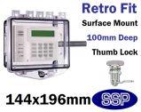 Rim Thumb Lock Cover Surface mount T511D