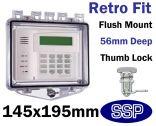 Rim Thumb Lock Cover Flush mount T511E
