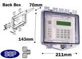 Rim Thumb Lock Enclosure Shallow back box T511F