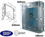 Fire Alarm Control Panel Enclosure with key lock K550