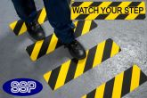 Watch Your Step Anti-Slip Strip 610x150mm