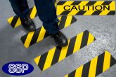 Caution Anti-Slip Mat 610x150mm