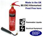 2kg CO2 (Carbon Dioxide) Fire Extinguisher 34B