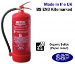 9 litre Water Fire Extinguisher (Stored Pressure) 21A
