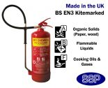 6 litre Wet Chemical (Stored Pressure) Fire Extinguisher 13A: 113B: 75F