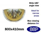 Complete-Vision 180 degree Panoramic Observation Mirror (800mm)
