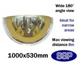 Complete-Vision 180 degree Panoramic Observation Mirror (1000mm)