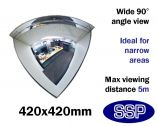 Complete-Vision 90 degree Panoramic Observation Mirror (420mm)