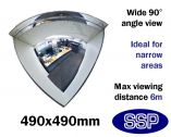 Complete-Vision 90 degree Panoramic Observation Mirror (490mm)