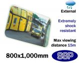 External Anti-Shock Observation Mirror (800x1000mm)
