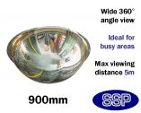 Complete-Vision 360 Degree Panoramic Observation Mirror (900mm)