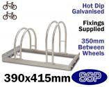Enviro Bicycle Rack (2 slot)