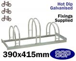 Enviro Bicycle Rack (3 slot)