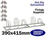 Enviro Bicycle Rack (5 slot)