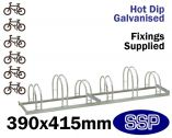 Enviro Bicycle Rack (6 slot)