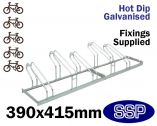 Multi-Slot Bicycle Rack (5 slot)