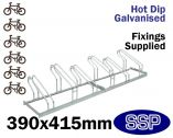 Multi-Slot Bicycle Rack (6 slot)