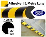 Edge Head Protection - Adhesive-backed Semi-Circular
