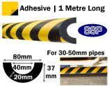 Pipe Impact Protection 40mm - 30 to 50mm pipes