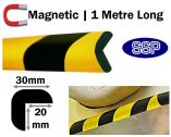 Magnetic Edge Impact Protection - Right Angle
