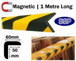 Magnetic Edge Head Protection - Large Right Angle