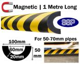 Magnetic Pipe Impact Protection 60mm - 50 to 70mm pipes