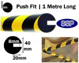 Push-fit Impact Protection - Semi-Circular