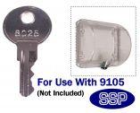 THERMOSTOP Medium Thermostat Guard Extra Keys (Pack of 2)
