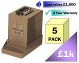 Junior CashGuard Vehicle/Portable Safe 5 Pack Multi-Saver
