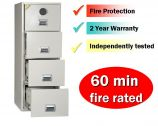 FF400 Fire Resistant Filing Cabinet and Safe