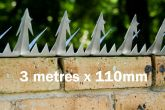 Razor Spikes (3 metres x 110mm)