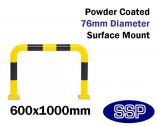 Internal Standard Collision Barrier (Powder Coated) 600x1000mm