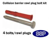 Surface fixing bolts for Narrow/Standard Bollards