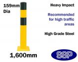 Standard Heavy Duty Bollard (Sub-Surface Fixing)