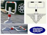 Drop Down Parking Post (Zinc/Reflective Rings SubSurface Mount)