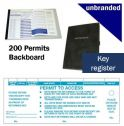Key Register 200 vouchers with key hook holes
