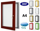 Key Lock Magnetic Board Poster Case A4 (297mm x 210mm)