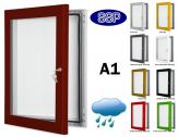 Key Lock Magnetic Board Poster Case A1 (840mm x 594mm)