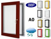 Key Lock Magnetic Board Poster Case A0 (1188mm x 840mm)