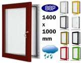 Key Lock Magnetic Board Poster Case 1400mm x 1000mm